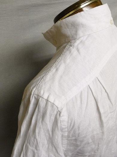 ジャンゴアトゥールリネンの半袖シャツ