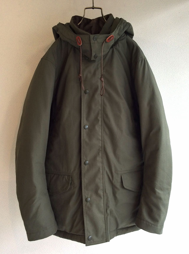 N-3 Puff Jacket,Khaki Workers