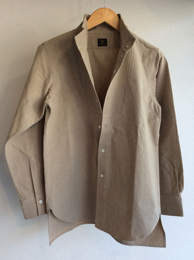 da highneck shirt beige
