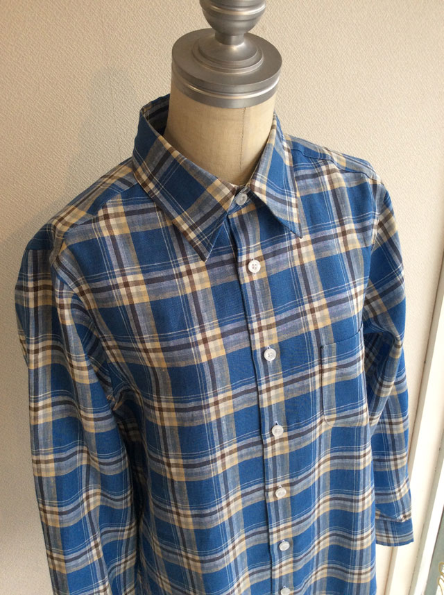 James Mortimerレディースロングシャツ
