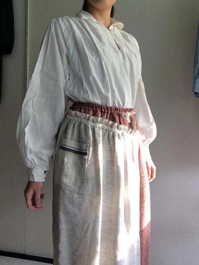 ラガルボスカート着用画像