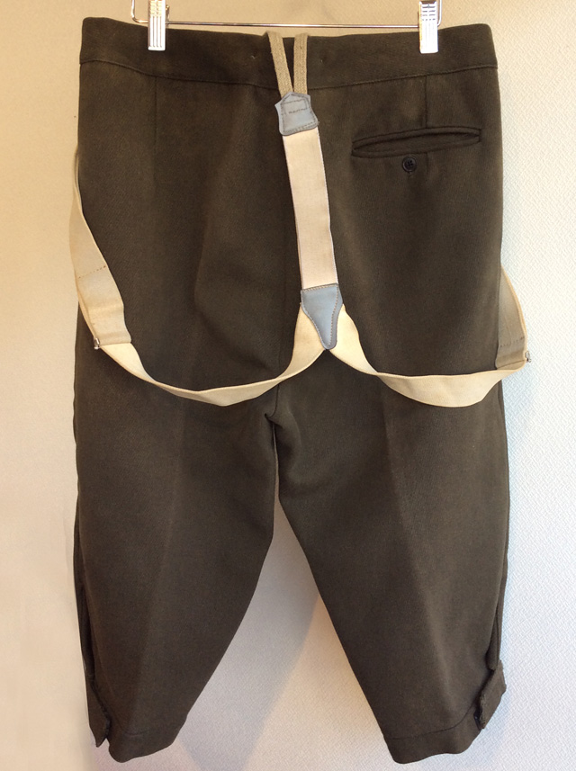 1970's Austrian Shooting TrousersKhakish Gray