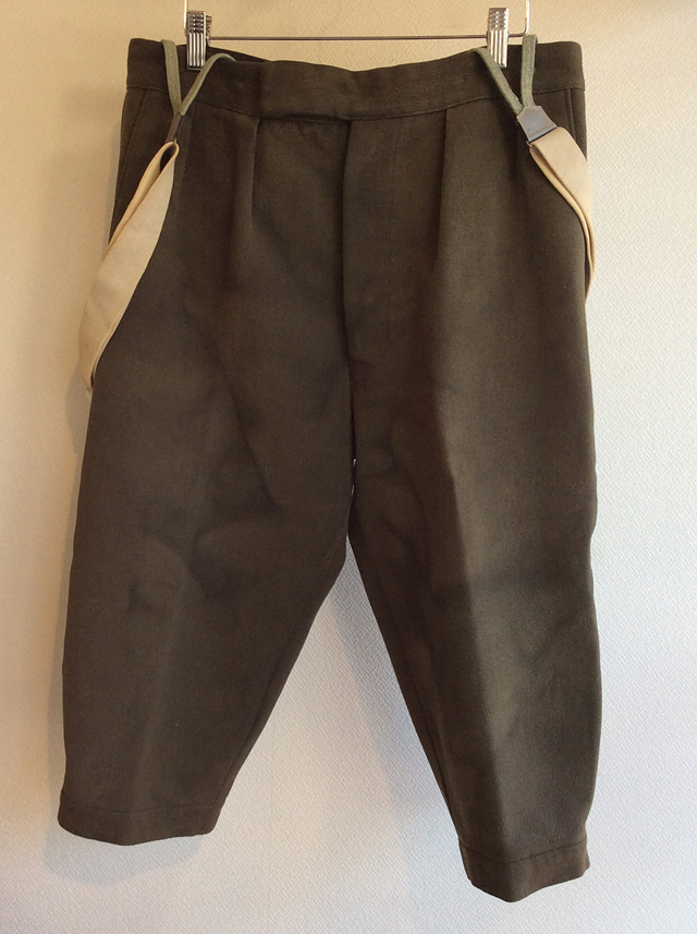 1970's Austrian Shooting Trousers Khakish Gray