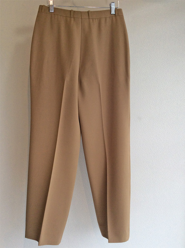 Christian Dior Tuck Slacks