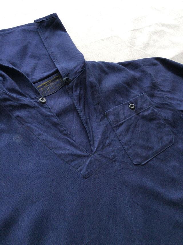 イタリア海軍プルオーバーシャツ
