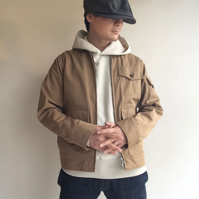 V Sweat Parka, Oatmeal