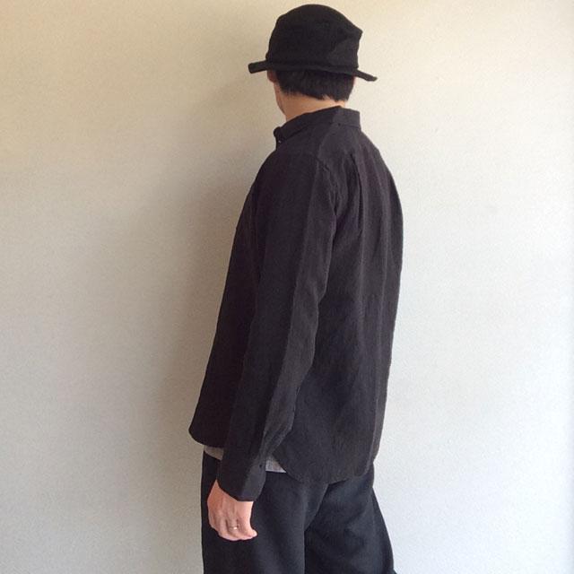 DjangoAtourフレンチリネンイージーシャツ