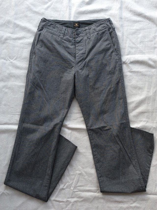 DA factory pants grey DjangoAtour