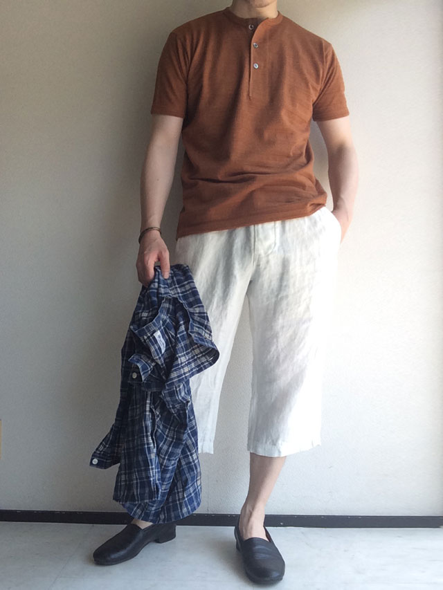heavylinen easy shorts DjangoAtour