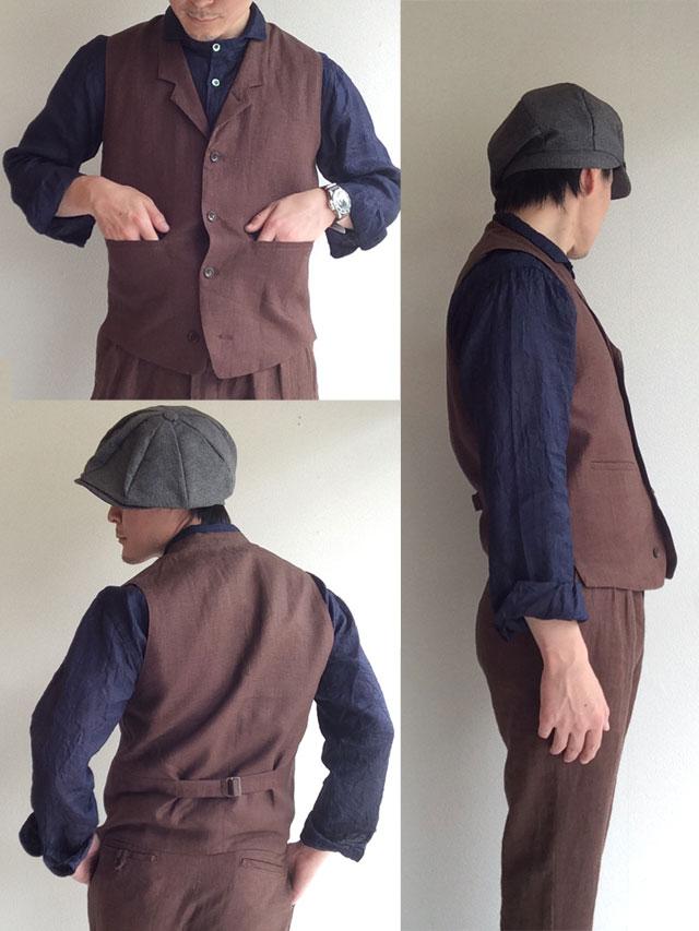 da linen waistcoat  DjangoAtour