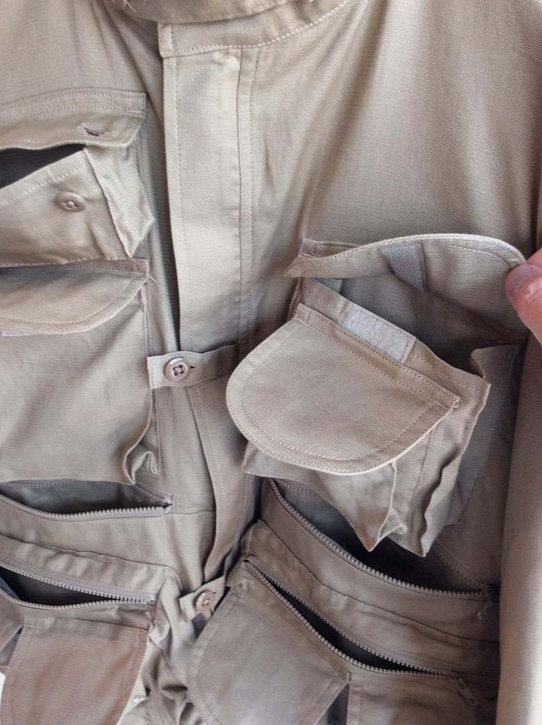 キャプテンサンシャインMulti Pockets Blouson