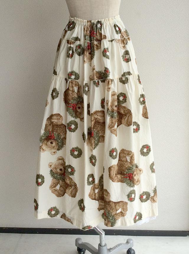ワンダフルワールドのクリスマススカート