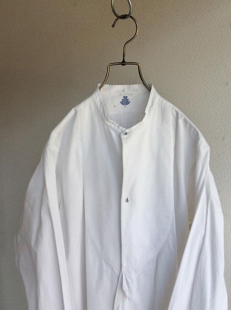 フランスアンティークのシャツ