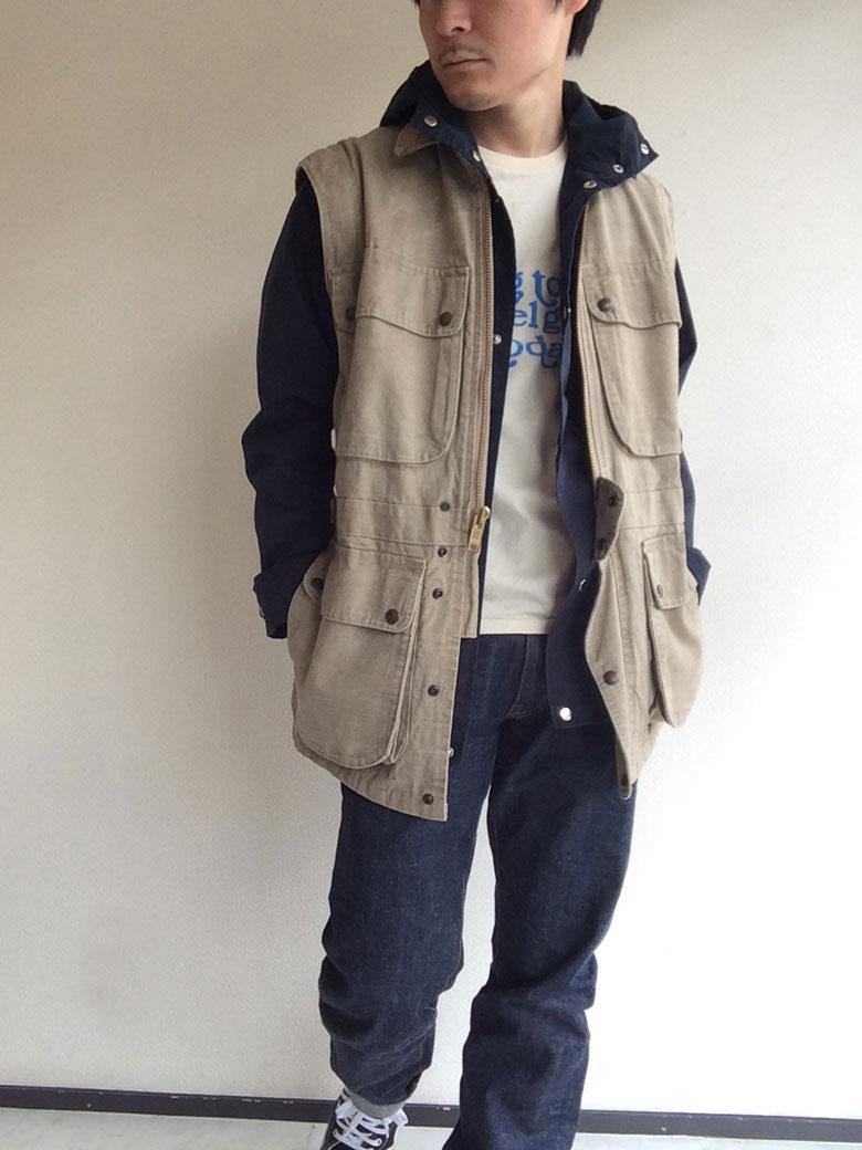カナダ製フィールドジャケット
