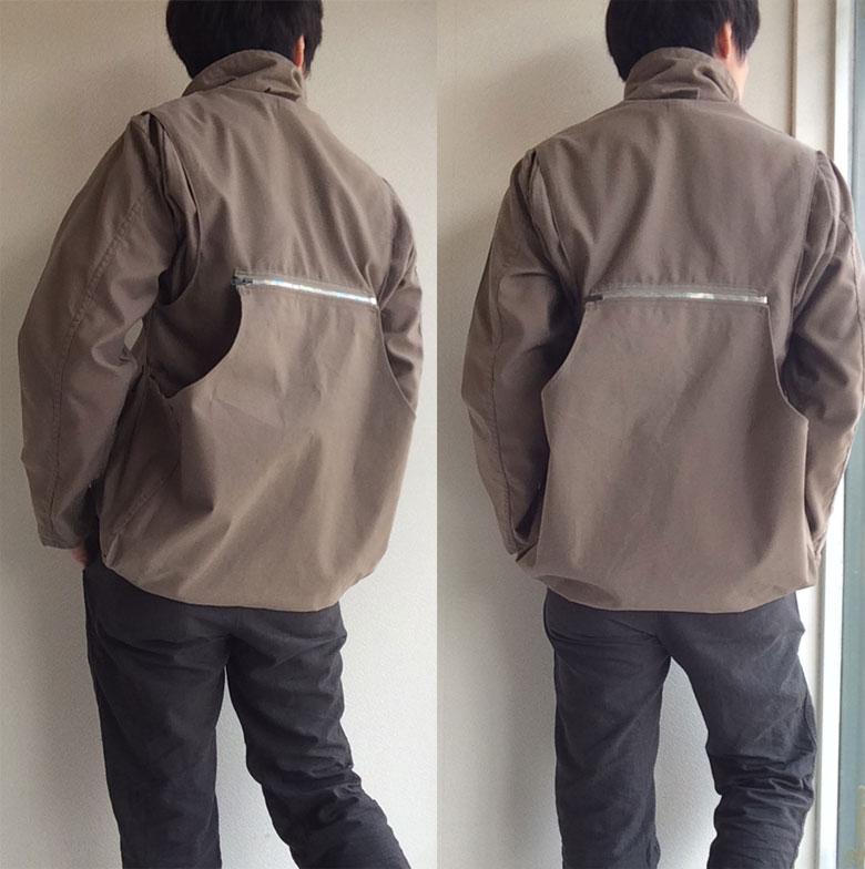 シューティングジャケット
