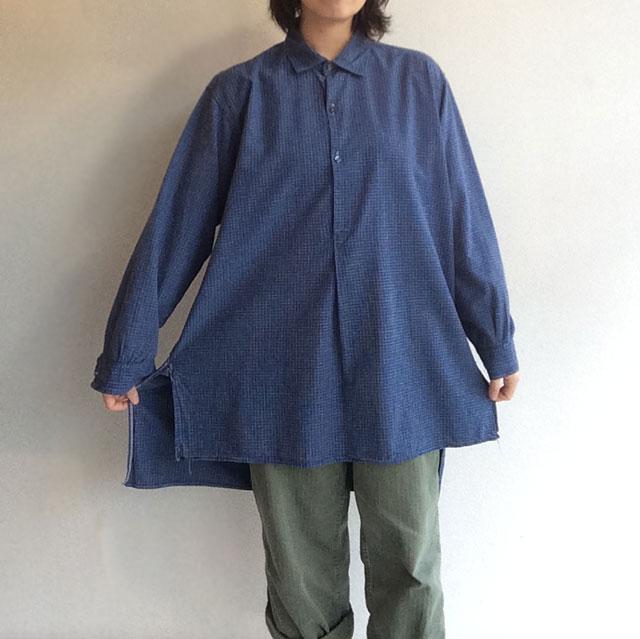 フランス古着ワークシャツ
