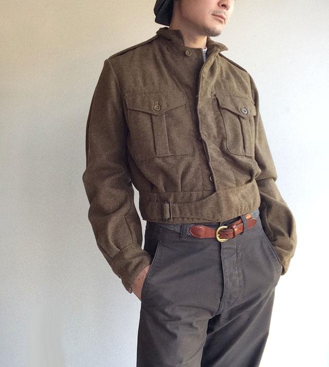 1950年代イギリス軍ロイヤルアーミーメルトンブルゾン