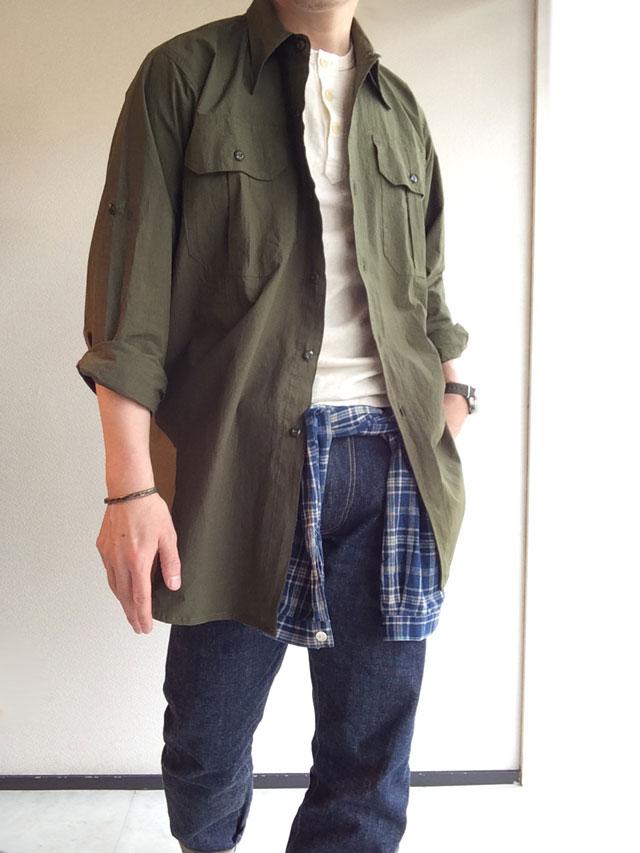 Yarmoオフィサーシャツ