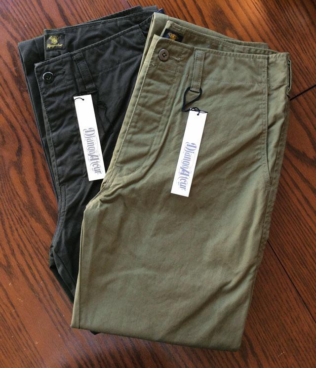 DA factory pants  DjangoAtour