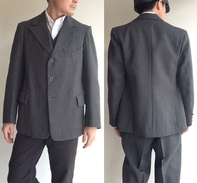 French Workers 3Piece Suits