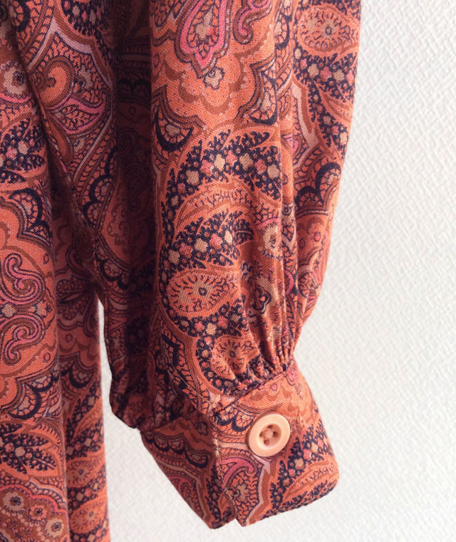 British Paisley Print Dress