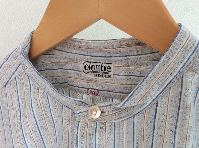 フランスのワークシャツ