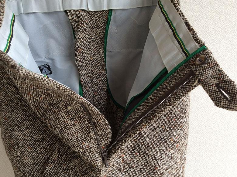 wool Tweed Pants