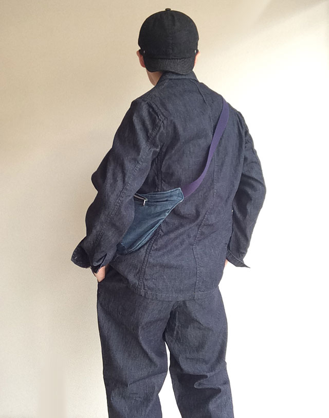 workers Lt Cruiser Jacket, 6 oz Denim