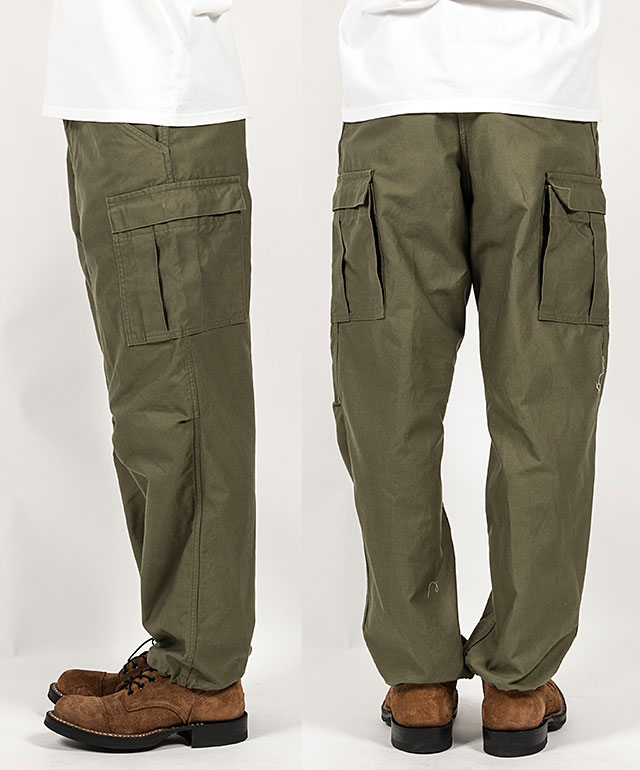 workers M65 Trousers Mod, OD Reversed Sateen