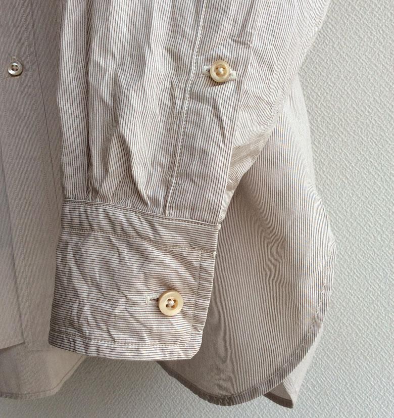 KAPTAIN SUNSHINEビッグボタンダウンシャツ