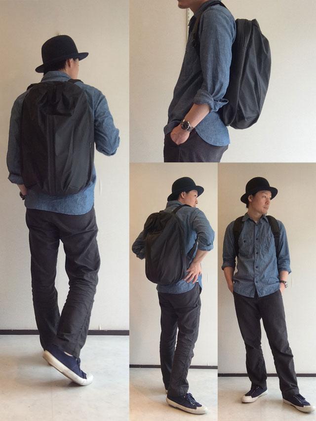 レインズ デイバッグ ブラック RAINS Day Bag Black