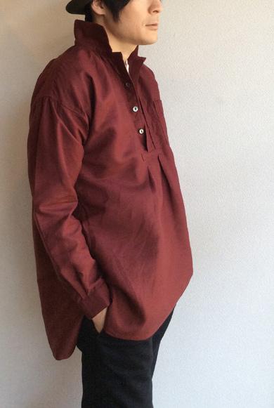 ヘンプのシャツ