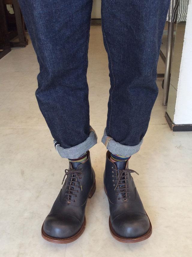 ヒラキヒミ。ブーツ画像