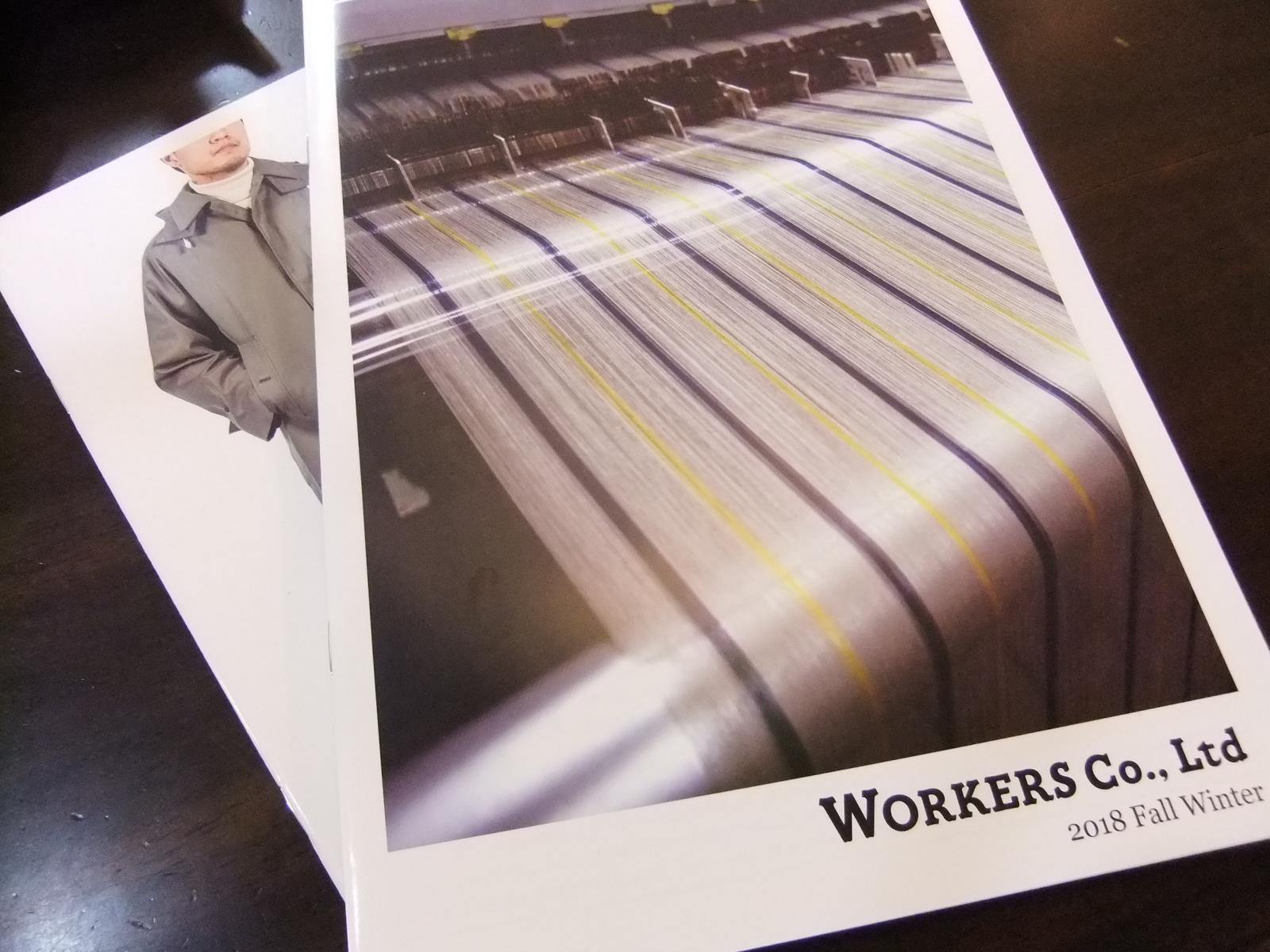 WORKERS2018秋冬カタログ