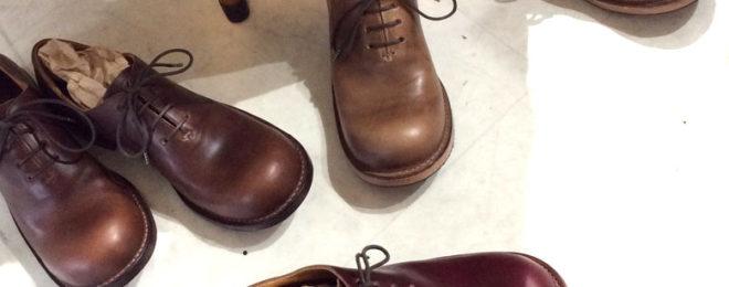 ヒラキヒミ雑貨屋マメチコおでこ靴オーダー会
