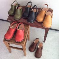 ヒラキヒミ。革靴サボサンダル