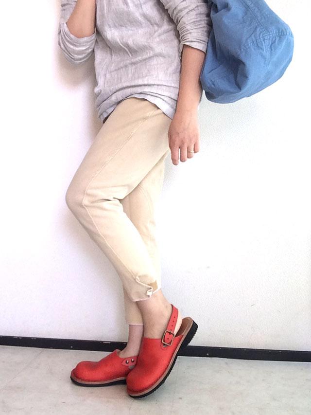 ヒラキヒミ。革靴コーディネイト