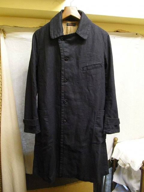 ヘヴィリネンのパリダスター CLASSIC PARIS LINEN DUSTER/DjangoAtour ANOTHERLINE