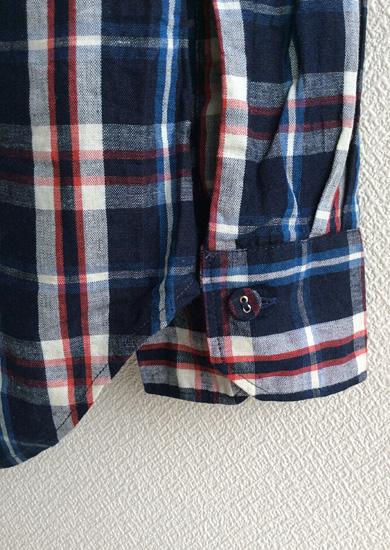 クラシックチェックシャツ ネイビーチェック CLASSIC CHECK SHIRT navycheck/DjangoAtour