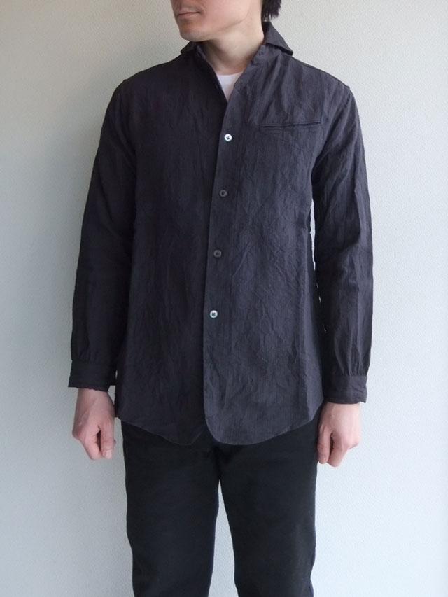 victorians work shawlcollar shirt
