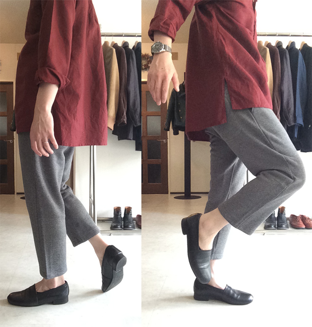 スウェットジョッパーズ sweat jodhpurs DjangoAtour ANOTHERLINE