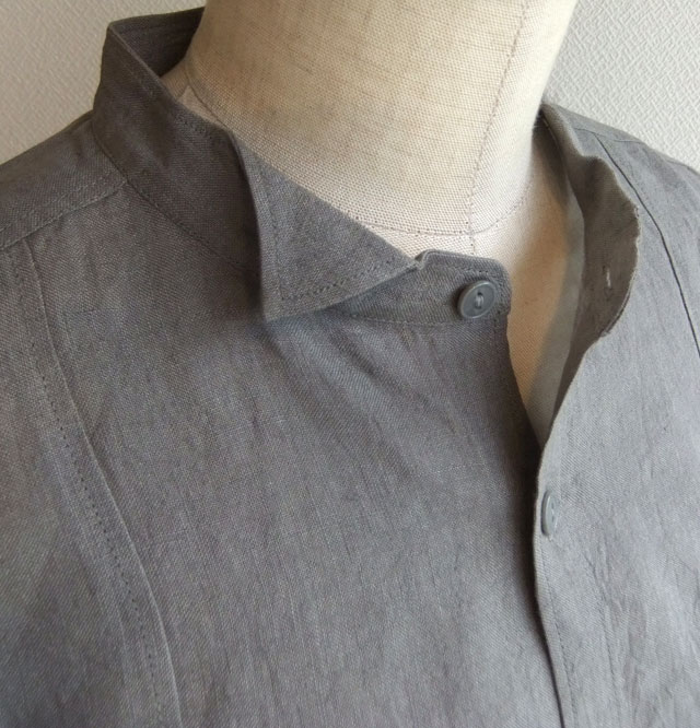 linen petit-w/c shirt 2015 grey
