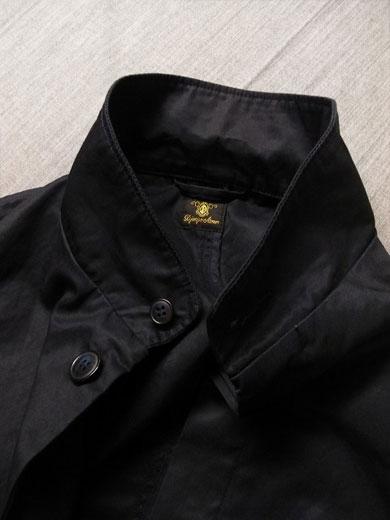 フライフロントUKコート ネイビー flyfront UK coat