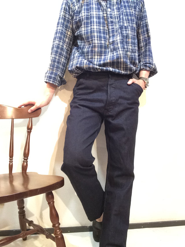 frenchwork denim trousers indigo/DjangoAtour