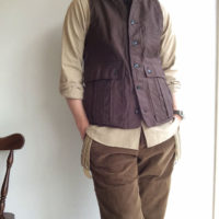 classic french hunter vest DjangoAtour