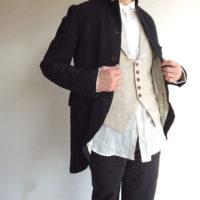 tail-worque linencoat victorian black/DjangoAtour