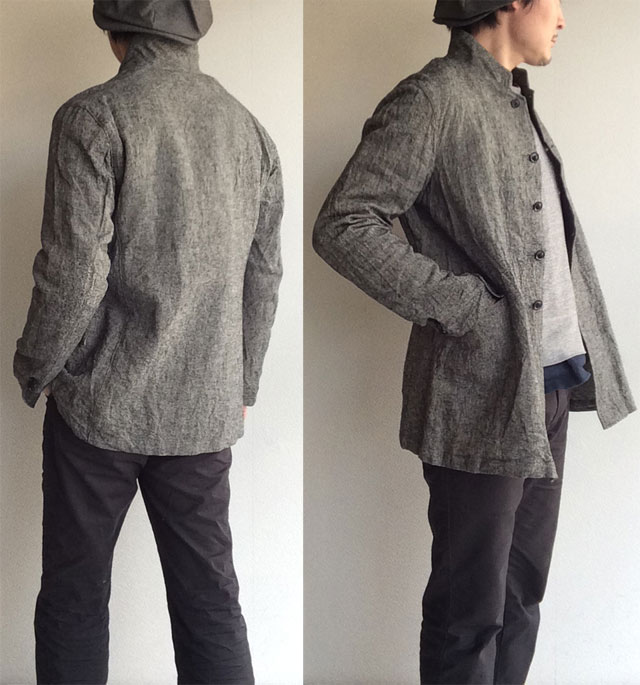 irish-worker heavylinen tailor jkt