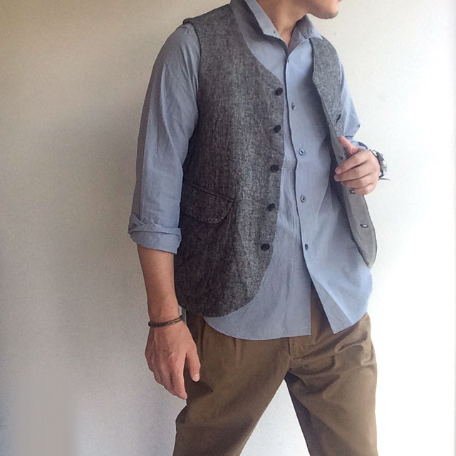 WORKERS HEAVYLINEN VEST