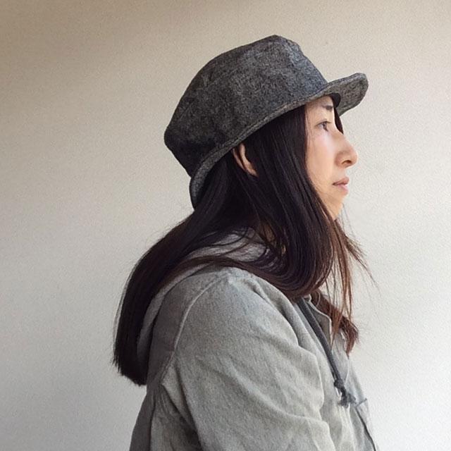 ジャンゴアトゥール chevalier linen hat