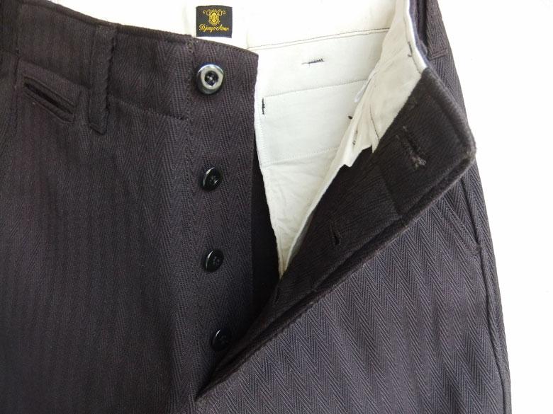 djangoatour Factory Herringbone Pants